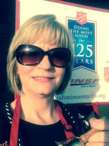 Anne Bramlett - Bell Ringer at the SalvationArmy
