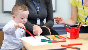 Speech Therapy Activities for Toddlers with Down Syndrome